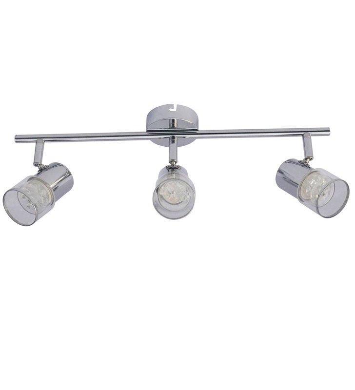 Potrójny reflektorek sufitowy Wendy LED