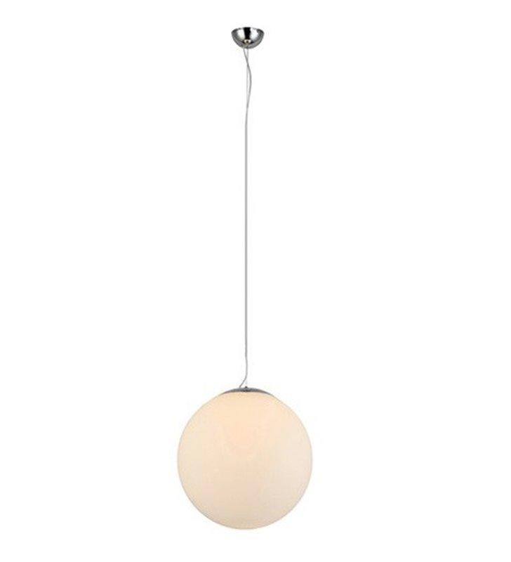 Lampa wisząca White Ball 20 mała biała kula