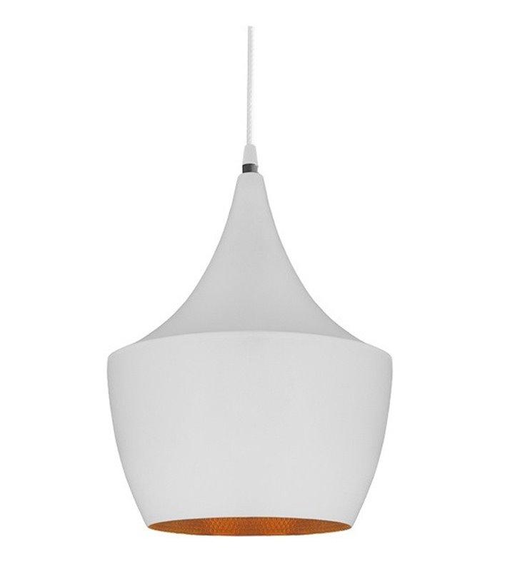 Orient biała lampa wisząca wewnątrz złota nowoczesna do salonu kuchni jadalni sypialni- DOSTĘPNA OD RĘKI