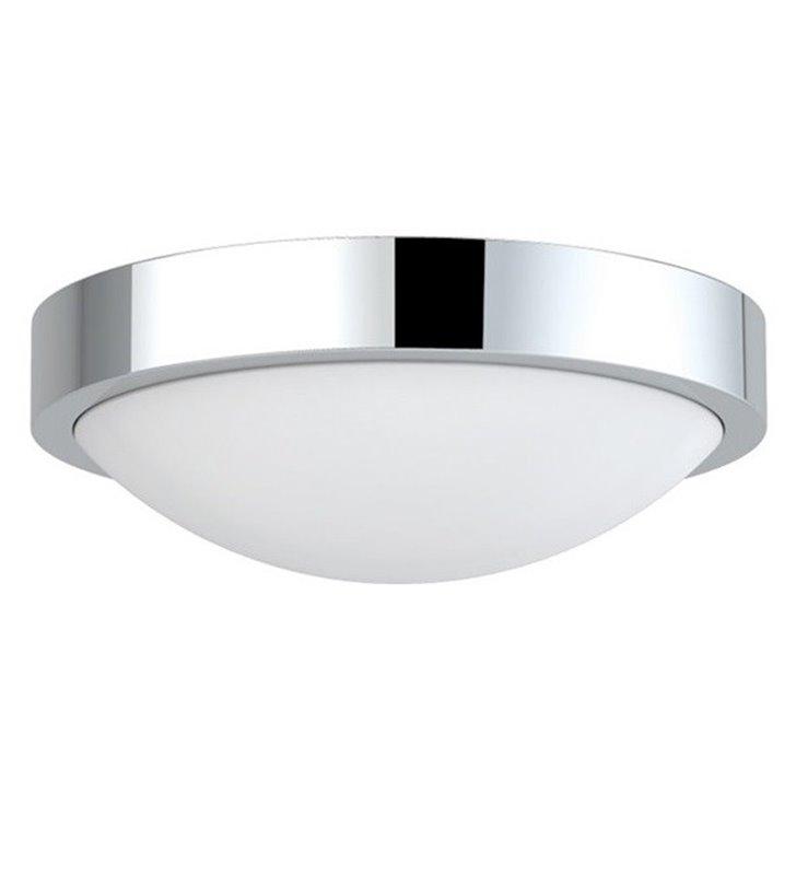 Okrągły chromowany plafon łazienkowy Colette 310 - DOSTĘPNY OD RĘKI