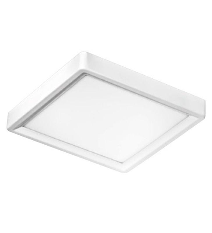 Tappo 310 LED nowoczesny biały kwadratowy plafon do salonu sypialni przedpokoju