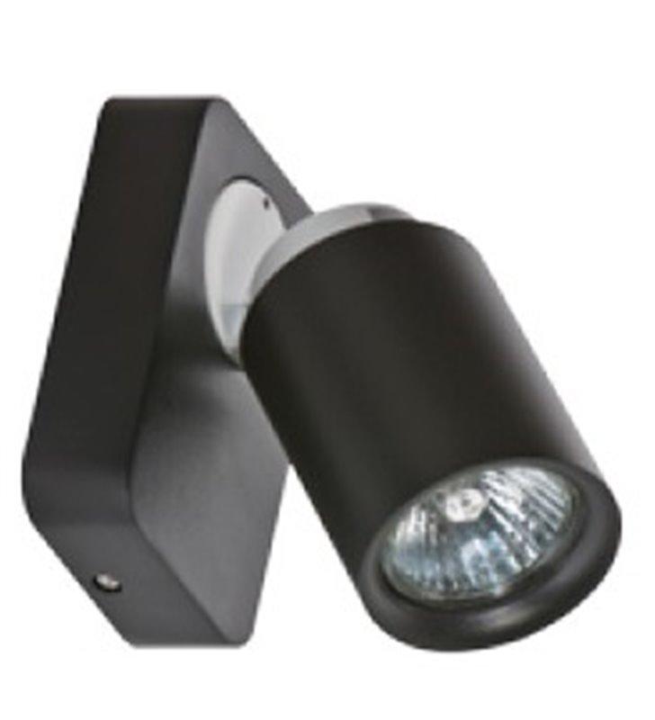 Lampa ścienno sufitowa Tomi czarna nowoczesna