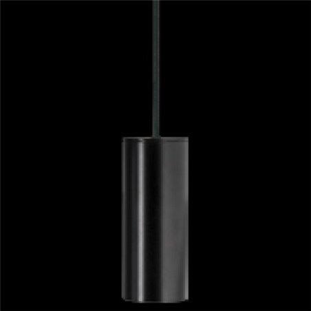 Lampa wisząca Piano czarna walec