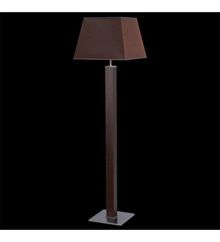 Lampa podłogowa Kore brązowa (K) do salonu sypialni