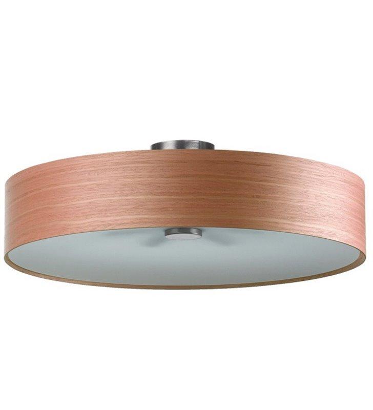 Kapri 520 okrągły plafon fornirowany czereśnia amerykańska do salonu sypialni holu przedpokoju