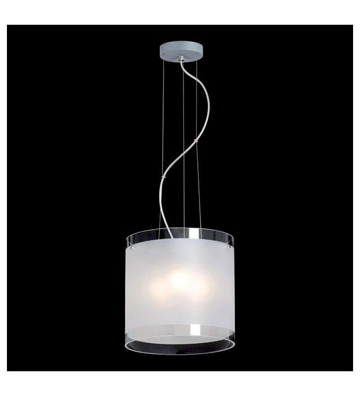 Lampa wisząca Pub półmat klosz szklany okrągły wysoki do salonu sypialni jadalni kuchni