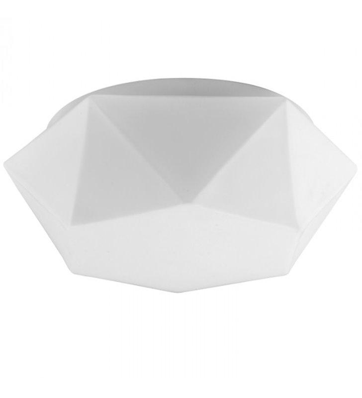 Plafon Gea 306 biały nowoczesny geometryczny kształt