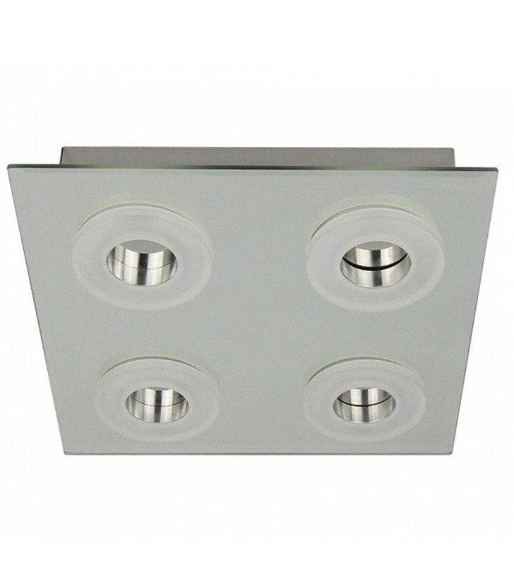 Plafon Vito 300 LED kwadratowy nowoczesny 4 punktowy do salonu sypialni na przedpokój