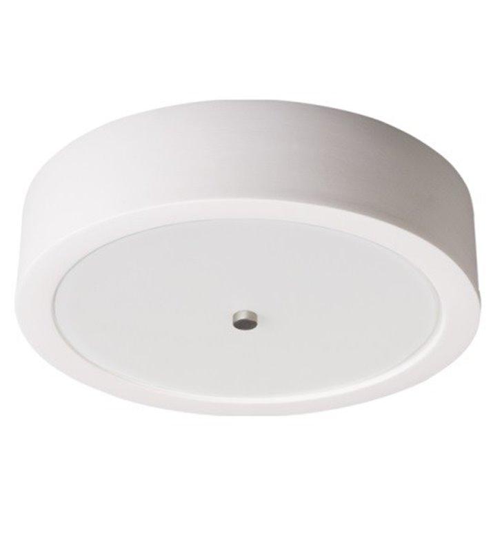 Plafon Atena 260 biały okrągły ceramiczny - DOSTĘPNY OD RĘKI