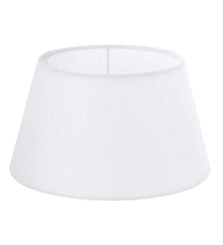 Lampa Vintage(4) - abażur biały stożek 25cm - DOSTĘPNY OD RĘKI