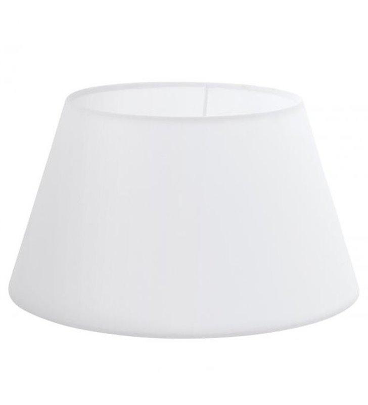 Lampa Vintage(4) - abażur biały stożek