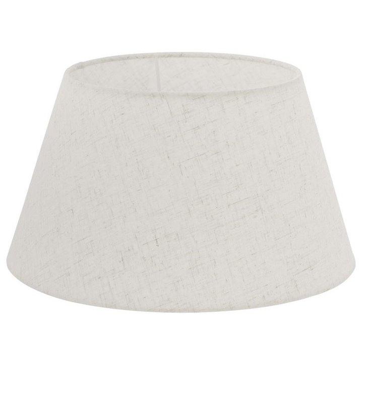 Lampa Vintage(2) - kremowy abażur stożek