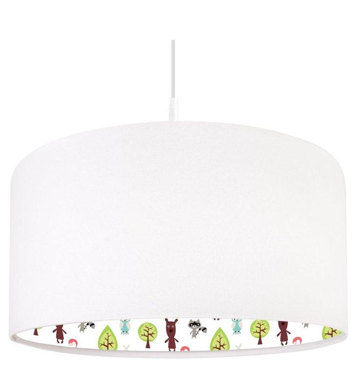Lampa wisząca Święto Lasu do pokoju małego dziecka