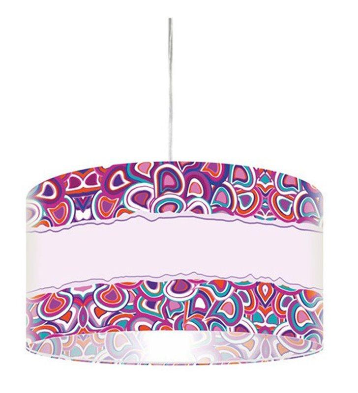Lampa wisząca Pastelowo Kolorowo
