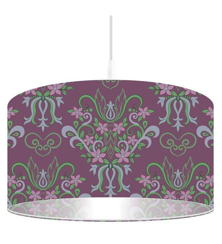 Lampa wisząca Fioletowy Ornament