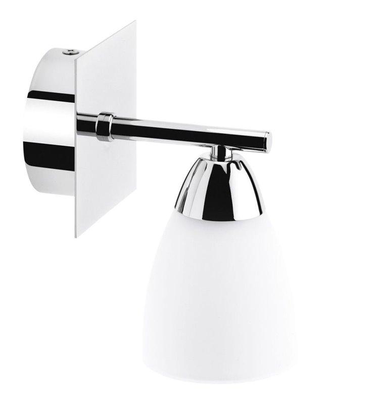 Kinkiet do łazienki Aquatic pojedynczy z kloszem w dół