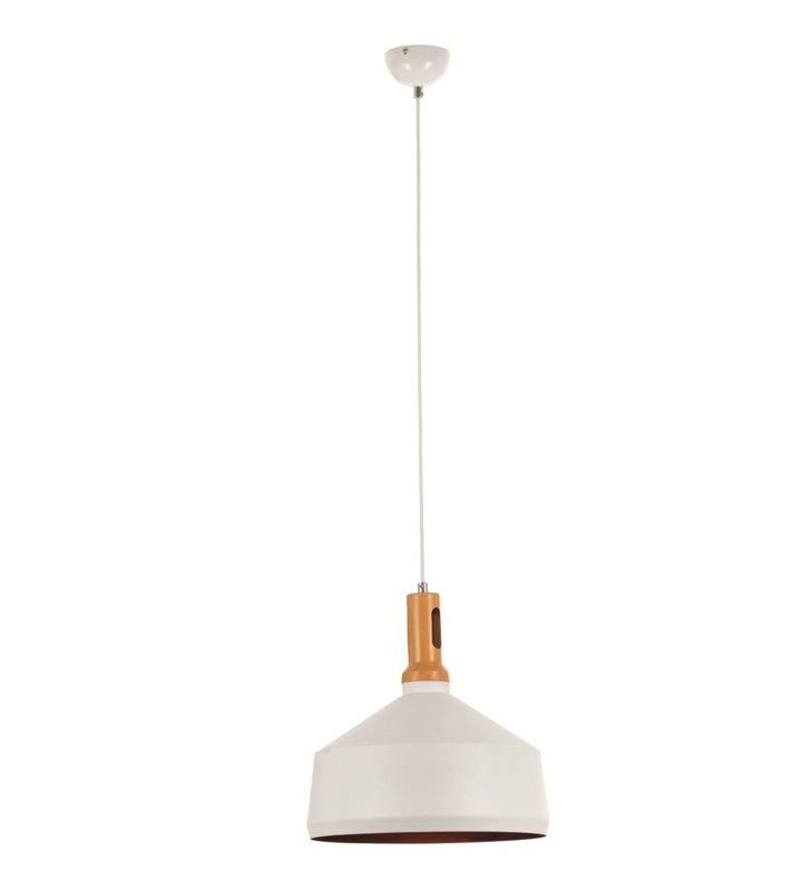 Lampa wisząca Selene biała nowoczesna