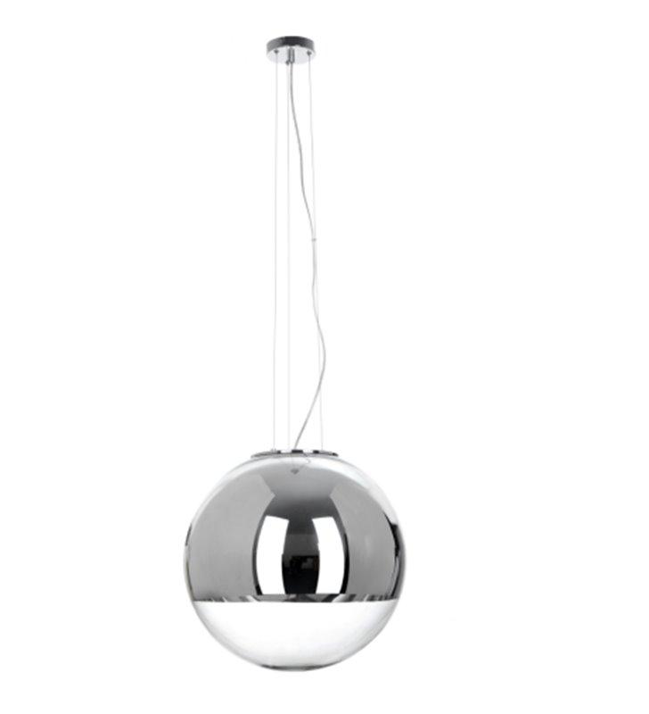 Lampa wisząca Gino duża nowoczesna szklana kule