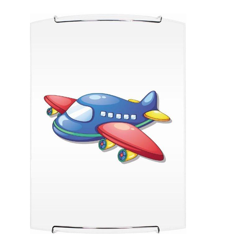 Kinkiet dziecięcy z samolotem Jet