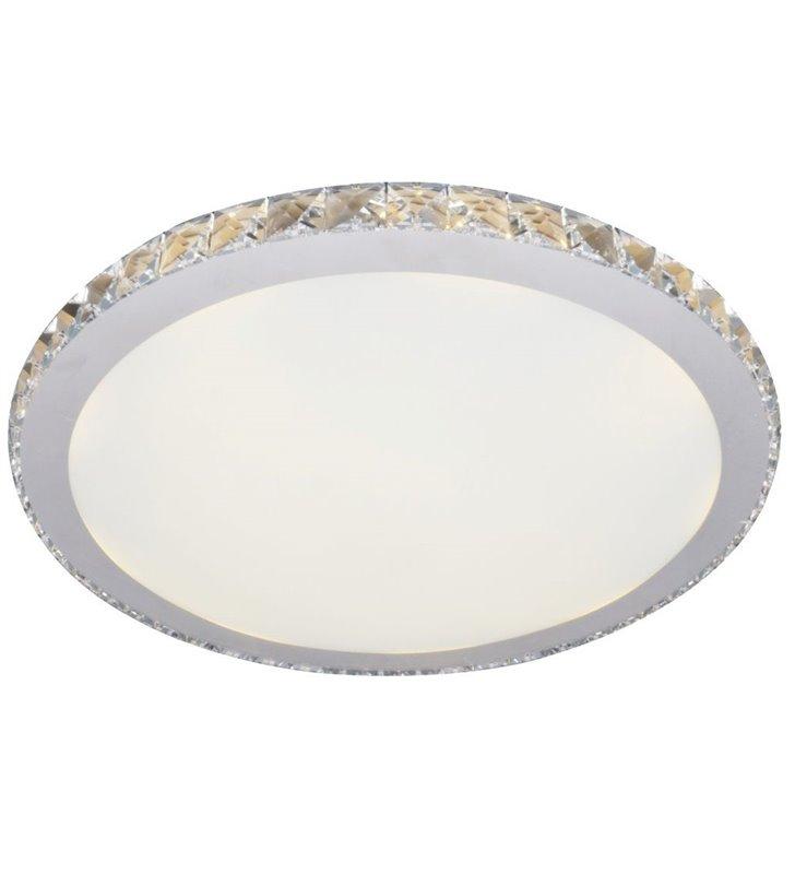 Elegancki plafon Gallant 50cm okrągły zdobiony kryształkami