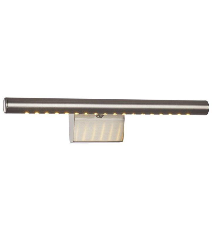Kinkiet nad obraz Lark LED kolor nikiel satynowany