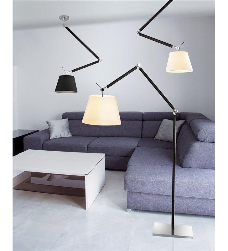 lampy wiszące z ruchomym łamanym ramieniem