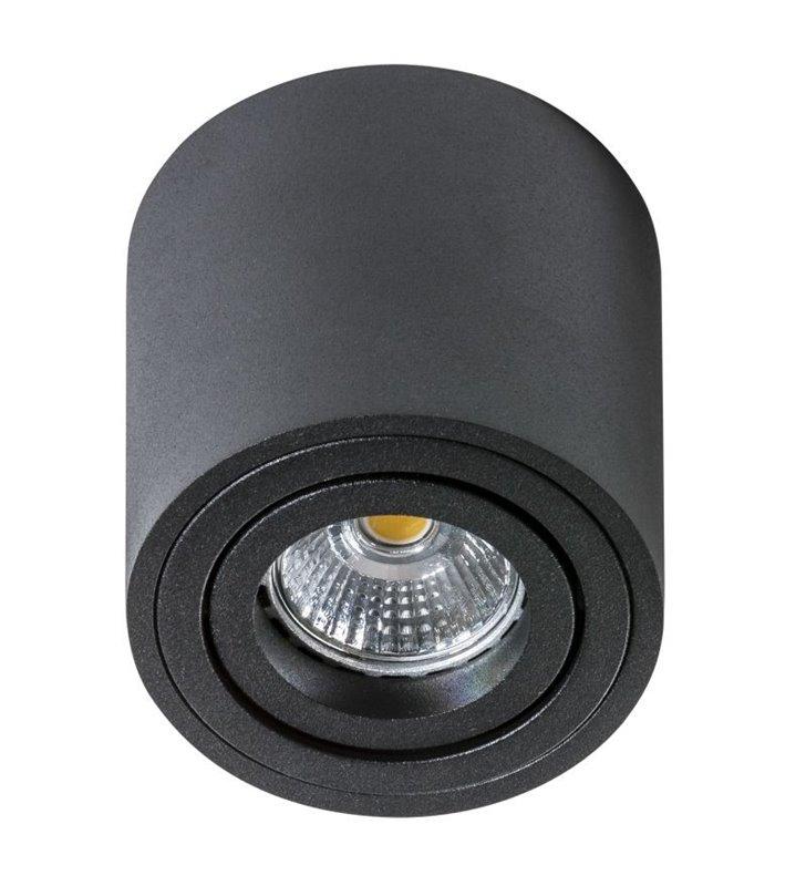 Lampa sufitowa Bross Mini czarna okrągła