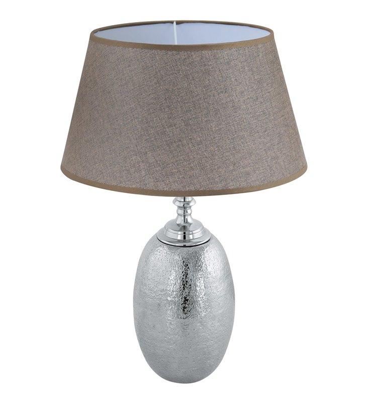 Elegancka wysoka lampa stołowa Sawtry do salonu sypialni jadalni