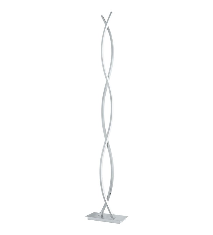 Lampa podłogowa Lasana2 nowoczesna LED wąska wieża chrom