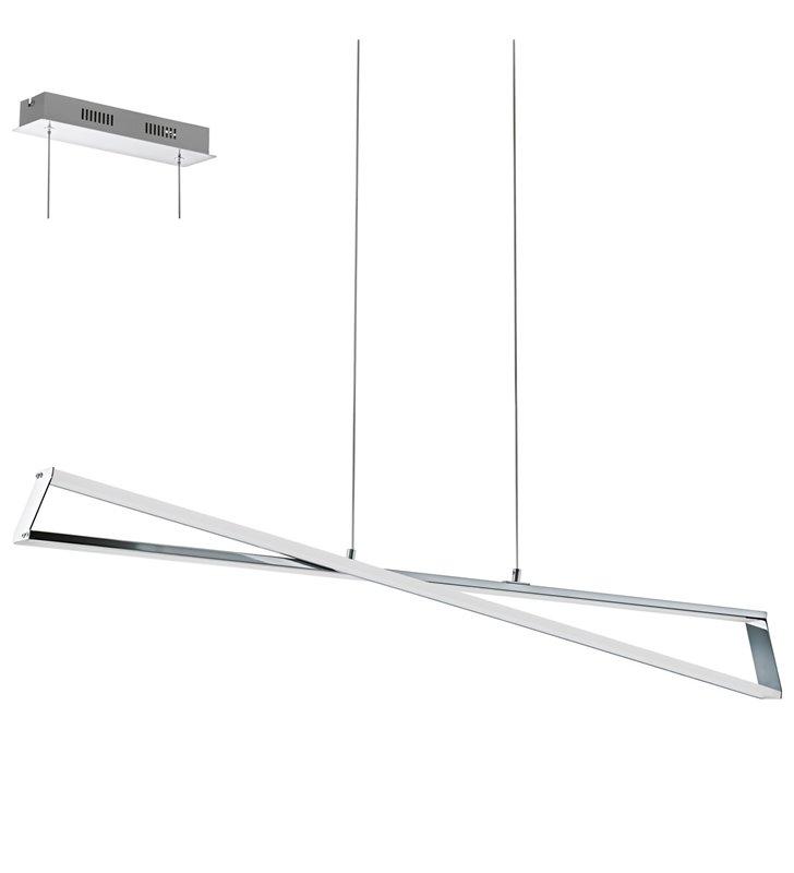 Wisząca lampa Agrela designerska LED do biura nad stół do kuchni jadalni