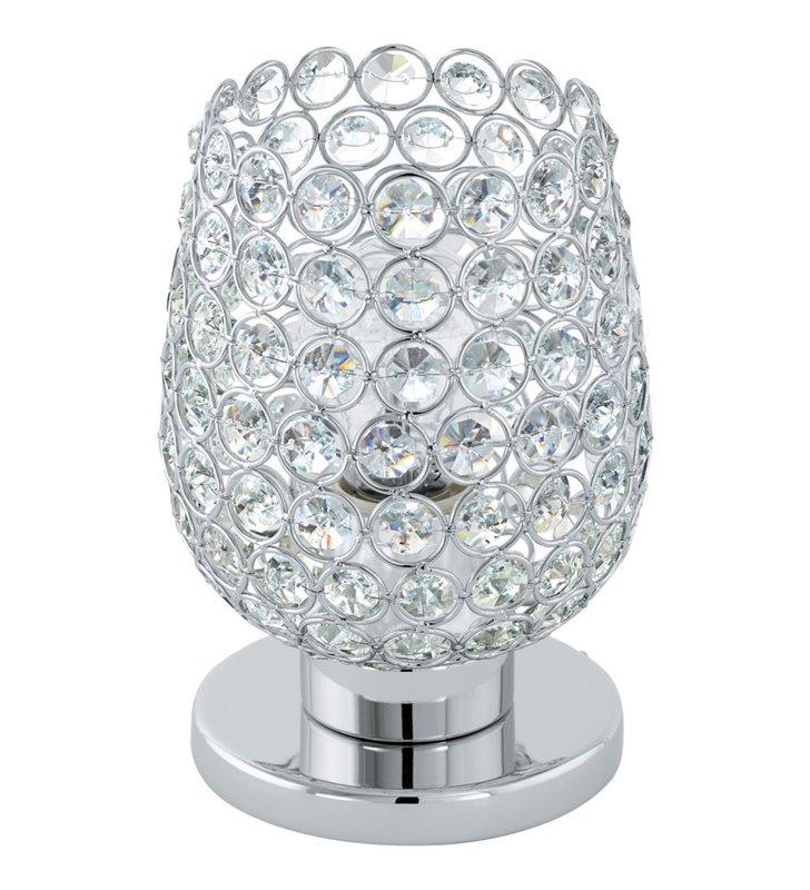 Mała kryształowa lampa stołowa Bonares1