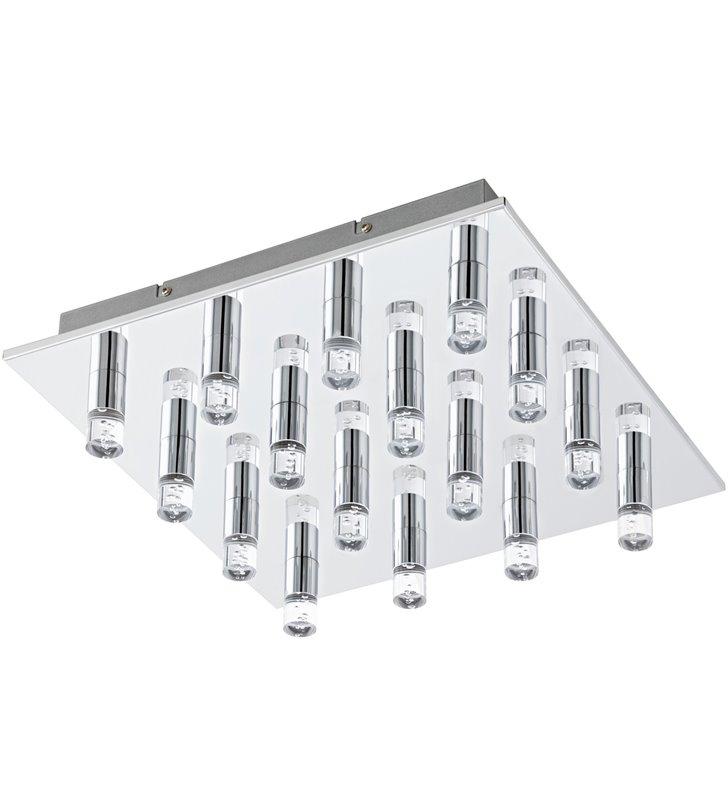 Wielopunktowa kwadratowa lampa sufitowa plafon Teocelo 370 LED