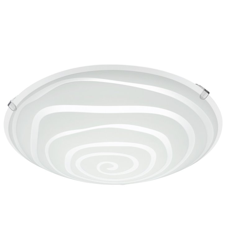 Plafon Borgo2 245 szklany okrągły LED mały