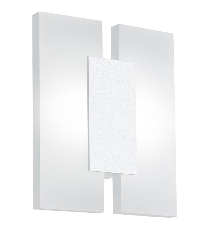 Kinkiet Metrass2 biały nowoczesny geometryczny