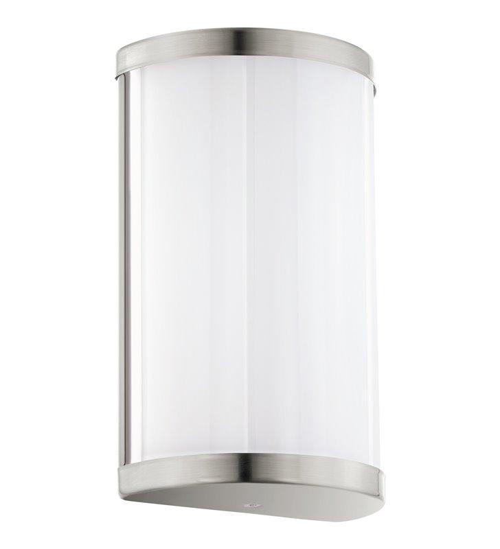 Lampa ścienna Cupella LED biały klosz wykończenie nikiel satynowany