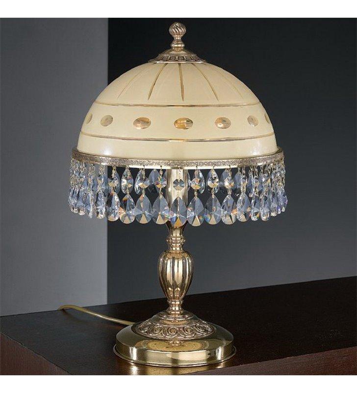 Ekskluzywna lampa z kryształkami Katania zlota