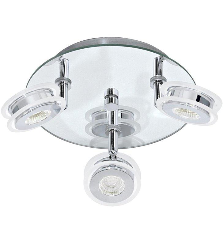 Lampa sufitowa do łazienki Agueda podsufitka ze szkła lustrzanego