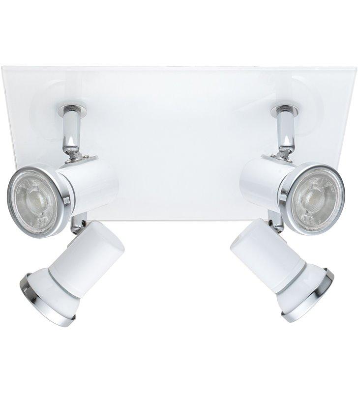 Lampa sufitowa łazienkowa szklana podsufitka Tamara1