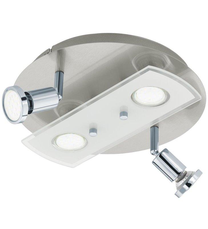 Lampa sufitowa Pawedo1 okrągła nowoczesna żarówki LED