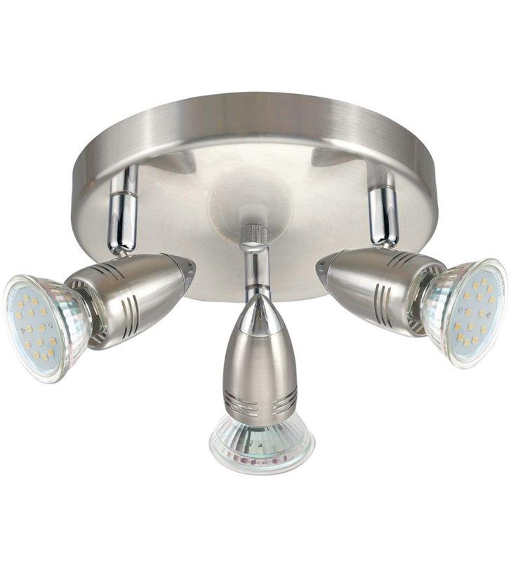 Lampa sufitowa Magnum-LED potrójna okrągła