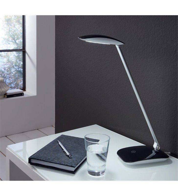 Nowoczesna lampka biurkowa Cajero z włącznikiem dotykowym ściemniacz - OD RĘKI