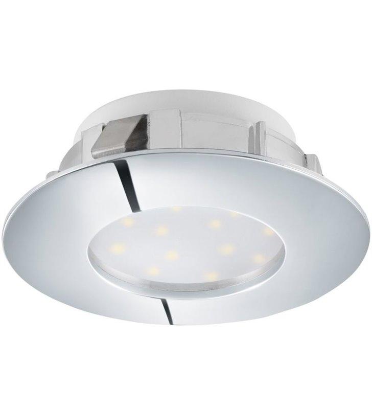 Oczko podtynkowe Pineda LED chrom nieruchome z możliwością ściemniania