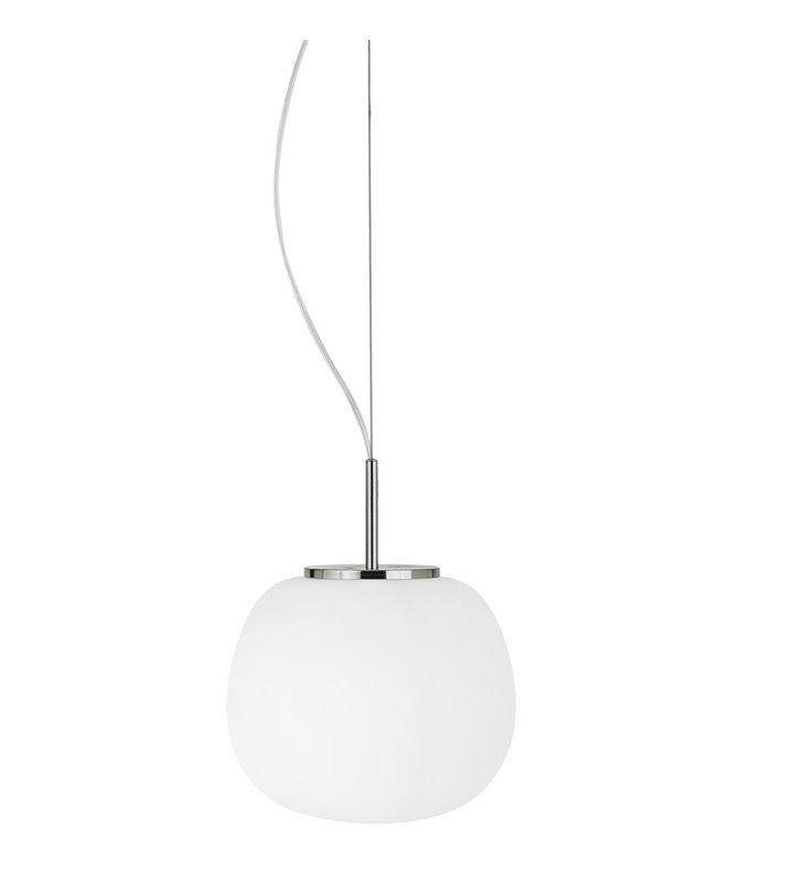 Pokojowa lampa wisząca Balmes szklana długa