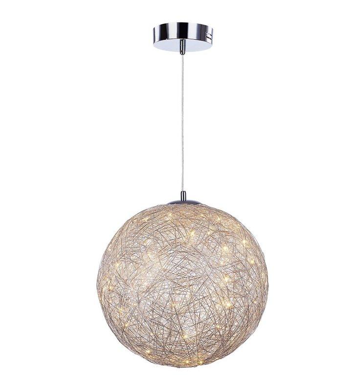 Stello 400 lampa wisząca druciana kula LED