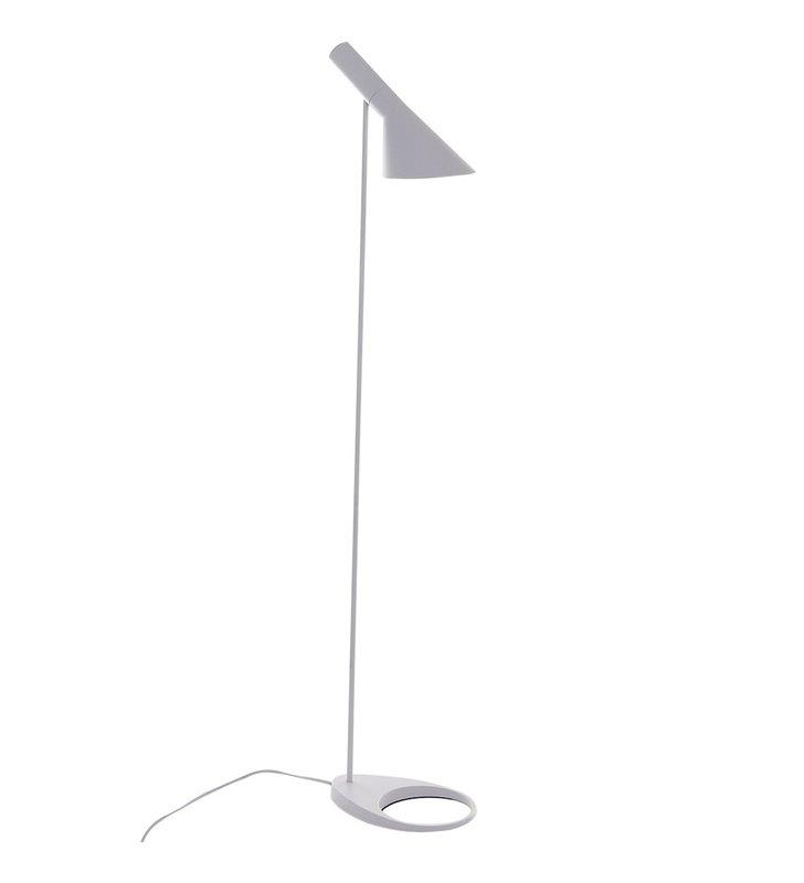 Lampa podłogowa Volta biała nowoczesna