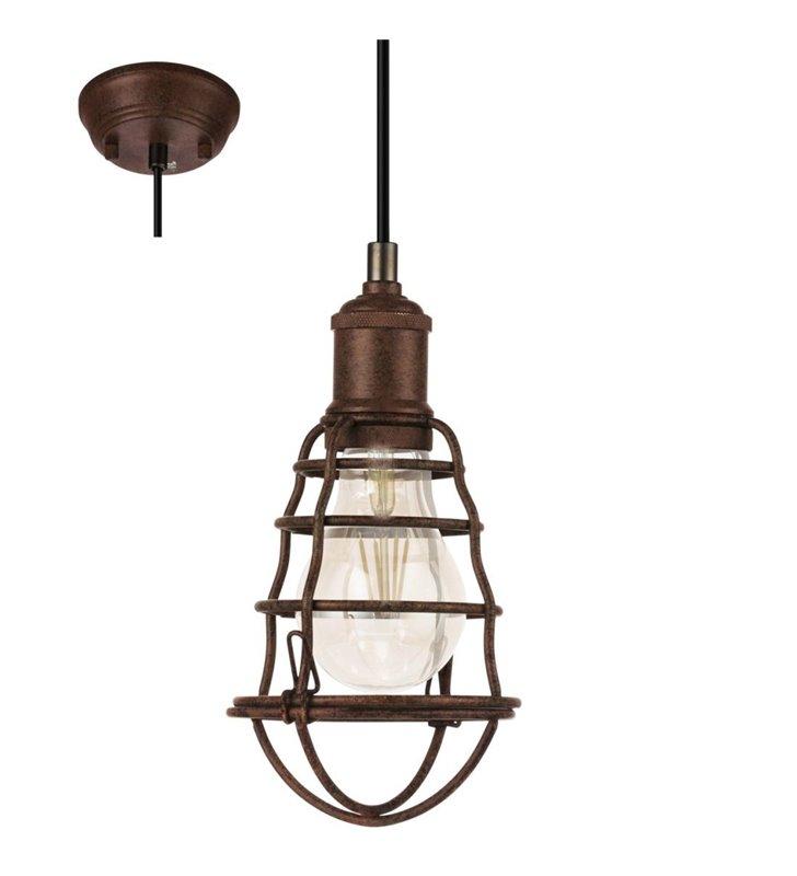 Lampa wisząca Port Seton w kolorze antycznego brązu styl vintage