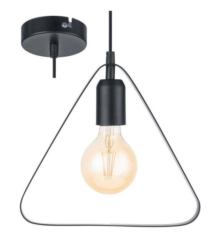 Trójkątna minimalistyczna lampa wisząca Bedington