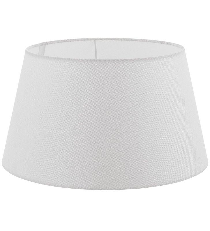 Lampa Vintage(2) - duży abażur w kolorze kremowym średnica 40 cm