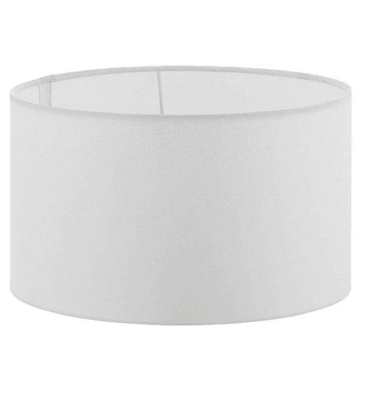 Lampa Vintage - duży kremowy abażur walec średnica 40 cm - DOSTĘPNY OD RĘKI