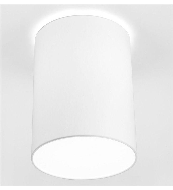 Biały plafon abażurowy Cameron 300 wysoki nowoczesny - DOSTĘPNY OD RĘKI